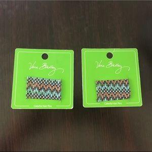 Vera Bradley Hair Pins - Sierra Stream